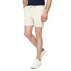 Maine New England - Big and tall off white shorts