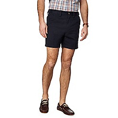Maine New England - Big and tall navy skipper shorts