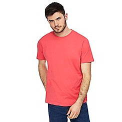 Maine New England - Big and tall pink crew neck t-shirt