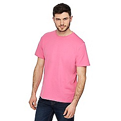 Maine New England - Big and tall light pink crew neck t-shirt