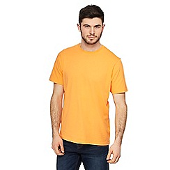 Maine New England - Big and tall orange crew neck t-shirt