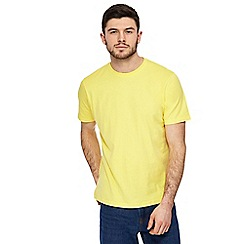 Maine New England - Big and tall yellow crew neck t-shirt