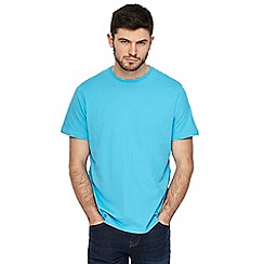 Maine New England - Big and tall light turquoise crew neck t-shirt