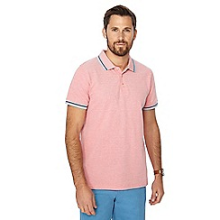 Maine New England - Big and tall peach tipped polo shirt