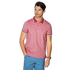 Maine New England - Pink tipped tailored fit polo shirt