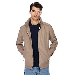 Maine New England - Big and tall natural showerproof Harrington jacket