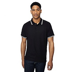 Maine New England - Big and tall pack of 2 black tipped polo shirts