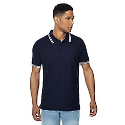 Maine New England - Big and tall pack of 3 assorted tipped polo shirts