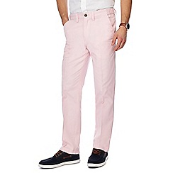 Maine New England - Light pink tailored fit chino trousers