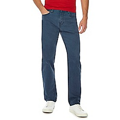 Maine New England - Big and tall grey straight fit jeans