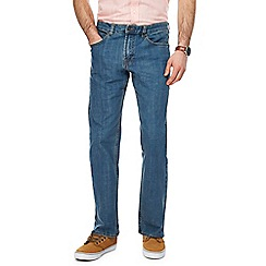 Maine New England - Blue vintage wash straight fit jeans