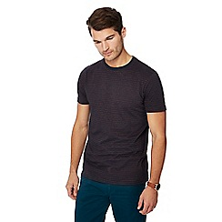 Maine New England - Big and tall navy striped t-shirt
