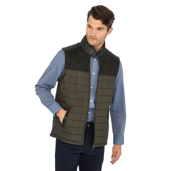 England gilet New quilted Khaki Maine RUq18wO