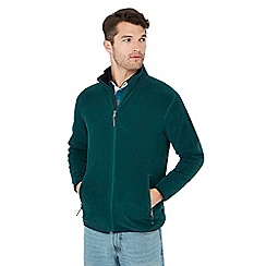 Maine New England - Dark green fleece jacket