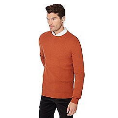 Maine New England - Dark orange crew neck jumper