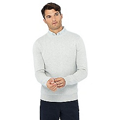 Maine New England - Light grey crew neck jumper
