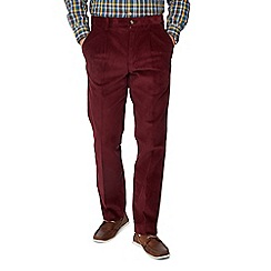 Maine New England - Plum corduroy trousers