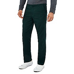 Maine New England - Dark green tailored fit chinos