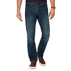 Maine New England - Blue mid wash regular fit jeans