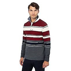 Maine New England - Multicoloured striped rugby top