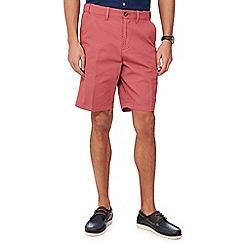Maine New England - Terracotta dash chino shorts