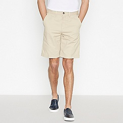 Maine New England - Cream Dash Chino Shorts
