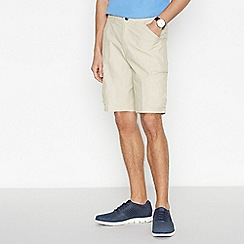 Maine New England - Beige Shower Resistant Cargo Shorts