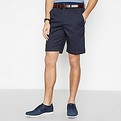 Maine New England - 2 Pack Red and Navy Chino Shorts