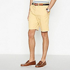 Maine New England - Yellow Cotton Washed Chino Shorts