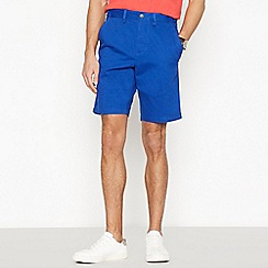 Maine New England - Bright Blue Washed Chino Shorts