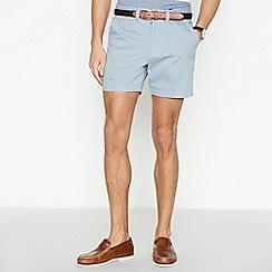 Maine New England - Light Blue Cotton Skipper Shorts