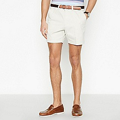Maine New England - Off White Cotton Skipper Shorts