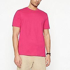 Maine New England - Big and tall dark pink cotton t-shirt