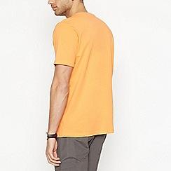 Maine New England - Big and tall orange cotton t-shirt