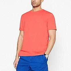 Maine New England - Bright Orange Cotton T-Shirt