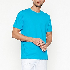 Maine New England - Big and tall bright turquoise cotton t-shirt