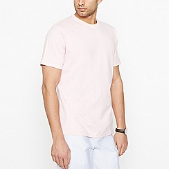 Maine New England - Big and tall light pink cotton t-shirt