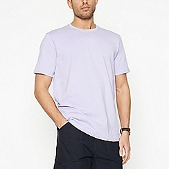 Maine New England - Big and tall lilac cotton t-shirt