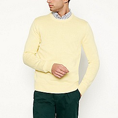 Maine New England - Yellow crew neck jumper