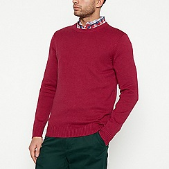 Maine New England - Dark pink cotton jumper
