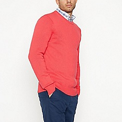 Maine New England - Coral Cotton Jumper