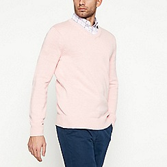 Maine New England - Pale pink cotton jumper