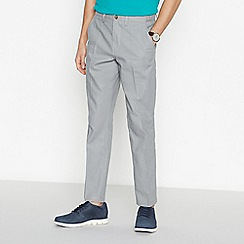 Maine New England - Grey Linen Blend Trousers