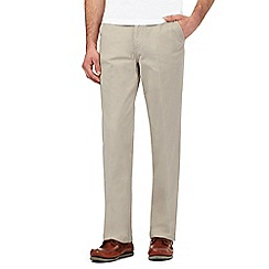 Maine New England - Natural regular fit chinos