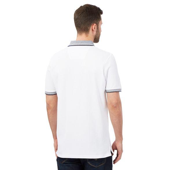 New shirt White polo Maine jacquard England collar TWdwTgqBp