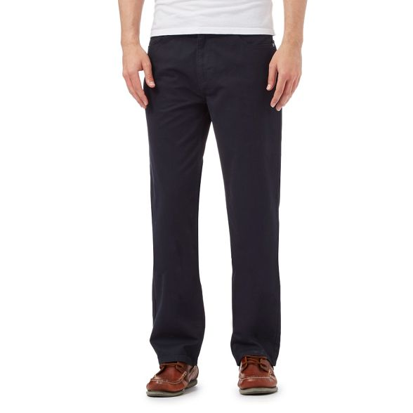 Navy England New fit regular trousers Maine qUZwCF