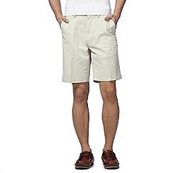Maine New England - Off white chino shorts