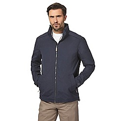 Maine New England - Navy Harrington shower resistant jacket
