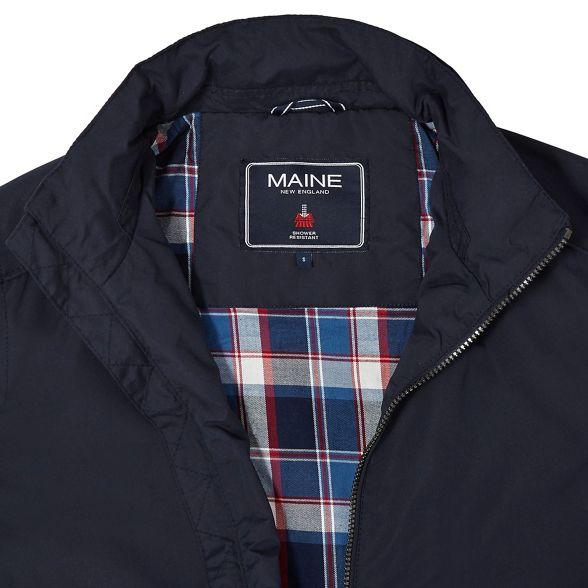 resistant Navy Maine shower jacket New England Harrington PPwXSE