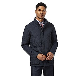 Maine New England - Big and tall navy lightweight quilted jacket